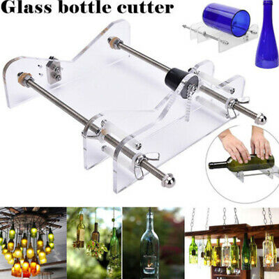 Glass Bottles Cutter Wine Beer Bottle Jar Machine DIY Handmade Cutting Tool CHG