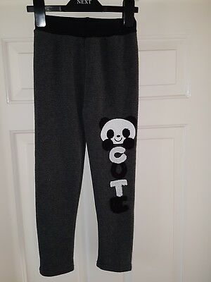 Benyuetu Girls Fleece Lined Warm Trousers In Black  Colour Age 7yrs Old