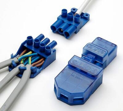 Click Flow CT101C 20A Lighting Connector 3 Pole Junction Box Quick Plug Push In