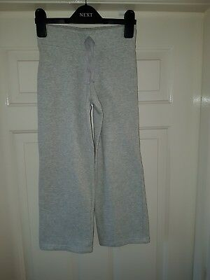 Next Girls Elasticated Waist Trousers In Grey Colour Age 7yrs Old