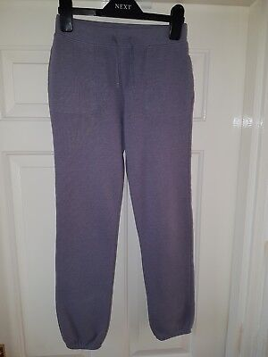 GAP kids Girls Elasticated Waist Trousers In Grey Colour Age 10/11 Yrs Old