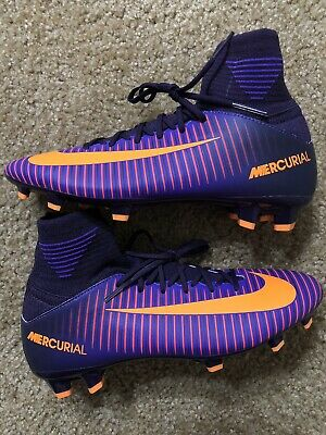 finest selection fb195 2ab69 Nike Jr Mercurial Superfly V Fg Soccer Cleats 4y Nwob 831943-585