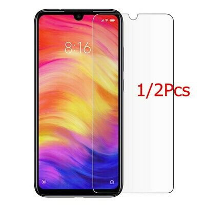 2x For Xiaomi Mi 9/Redmi Note 7 Clear 9H Tempered Glass Screen Protector Film DE