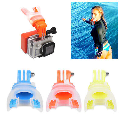 Diving Skiing Surfing Shoot Mouth Mount Bite for GoPro Hero7 6 5 4 3+/3 YI SJCAM