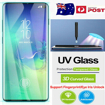 For Huawei P30 Pro Ultrathin Liquid Full UV Glue Tempered Glass Screen Protector