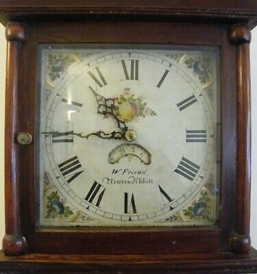 A WORKING LONGCASE 30Hr COUNTRY CLOCK BY W FRIEND NEWTON ABBOT  C1820