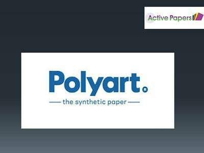 Polyart Synthetic Film Paper 124gsm - pads or loose sheets - rip proof