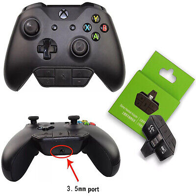 Stereo Headsets Headphones Audio Games Adapter for Microsoft Xbox One Controller