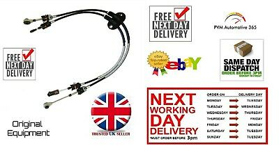 New Pair Gear Change Control Cables Ford Transit Connect & Tourneo 1.8 16v TDCi