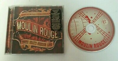 CD SOUNDTRACK - Moulin Rouge Original Motion Picture Original Soundtrack  2002