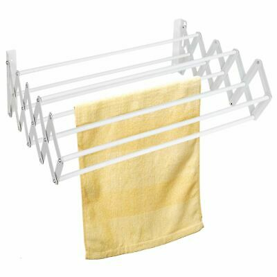 Indoor Folding Wall Mounted Extendible Dryer Rack Dryer Clothes Horse Airer