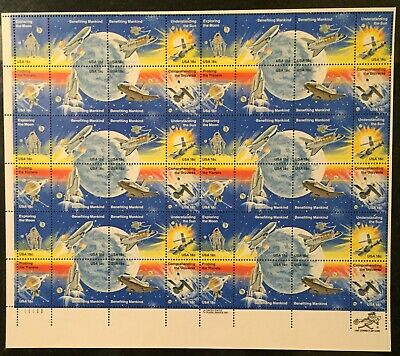 1981 $.18 Space Achievement Scott# 1912-1919 Sheet of 48 - MNH