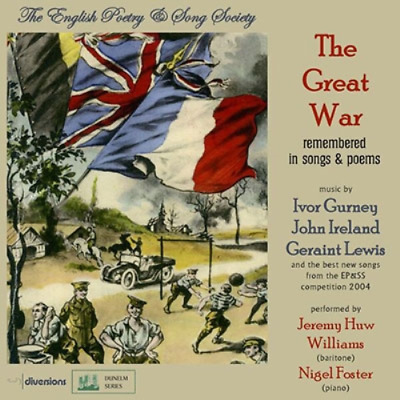 Jeremy Huw Williams-The Great War: Remembered In Songs And Poems-Japan Cd E12