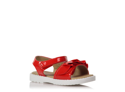 George First Walkers Patent Sandals Size Infant UK5/EUR22 BNWT