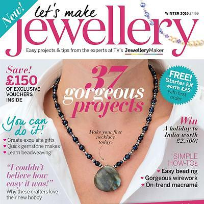 ** New ** Lets Make Jewellery Magazine - Winter 2016