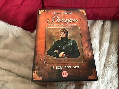 Sharpe With Shaun Bean The Complete Series 14 Dvd Boxset Unused