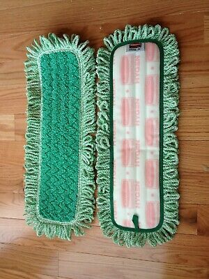 "Rubbermaid Commercial Q418 Hygen 18"" Microfiber Dust Pad w/Fringe"