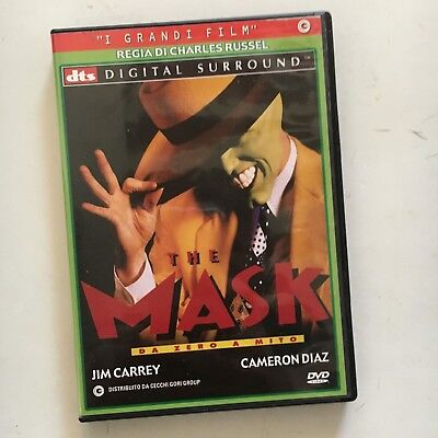 The Mask Da Zero A Mito Dvd Edizione Cover Verde - Jim Carrey Cameron Diaz