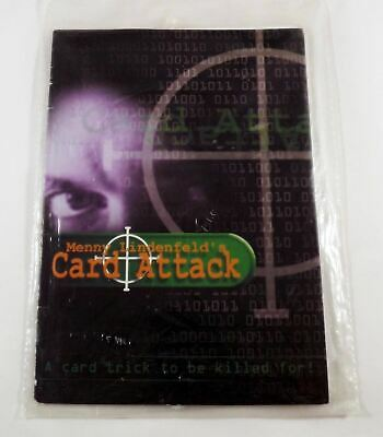 Card Attack by Menny Lindenfeld - Handmade Gimmick - Limited Number Made Rare