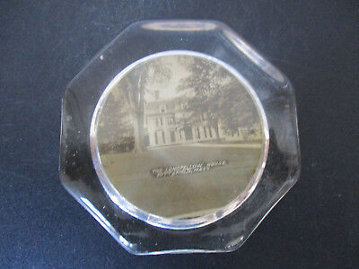 Circa 1910 Souvenir Paperweight Longfellow House Pittsfield Massachusetts #130