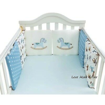 6pcs Child Toddler Safety Bed Rail Baby Bedrail Fold Cot Guard Protection cotton