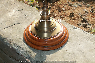 Handmade Solid Brass Globe Armillary Nautical Desk Decor Reproduction Gift 12""