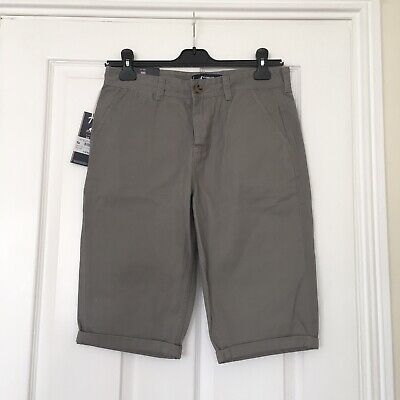 KANGOL, New Child's Shorts, Size XL, 13 Yr, 158cm, Coloure gray.