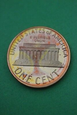 Florida Toned 1980 S Lincoln Memorial Cent Proof Flat Rate Shipping TOM77
