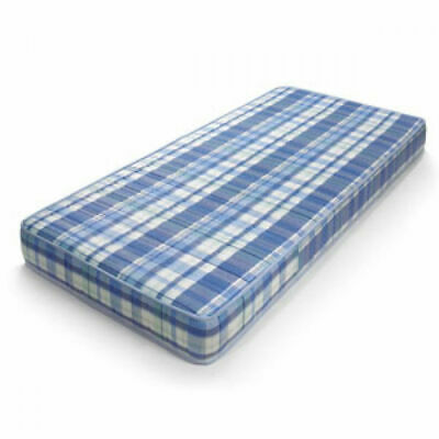 NEW CHEAP BLUE ECONOMY BUDGET MATTRESS 3ft Single 4ft6 Double free delivery