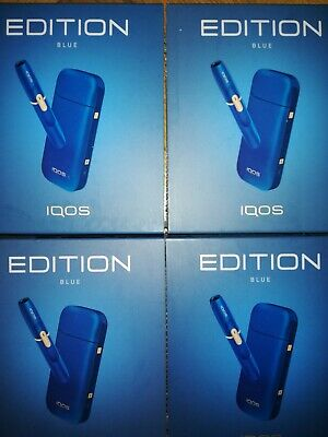 satz IQOS START KIT BLUE limited edition 2.4 plus bluetooth FREE DELIVERY