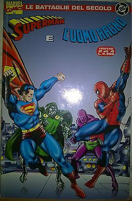 l'uomo ragno vs superman - le battaglie del secolo 2 di 4 - 1991 - marvel comics