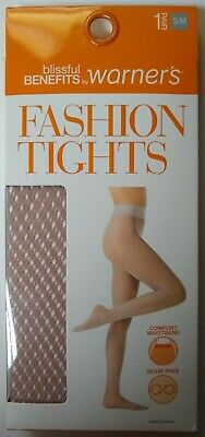 d077f756791da Fashion Tights Blissful Benefits by Warner's S/M Women's Tawny Mesh FREE ...