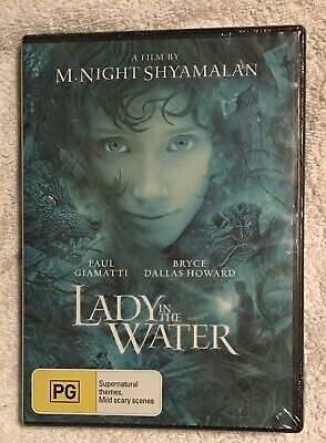 Lady In The Water DVD  Region-4 Brand New & Sealed