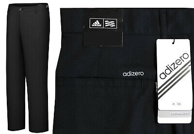 low priced 838b7 1d1af Adidas Golf Adizero Lightweight Golf Trousers - RRP£60 - ALL SIZES - BLACK