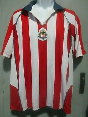 info for 17bc4 d21c1 CLUB DEPORTIVO GUADALAJARA chivas USED Atletica jersey X ...