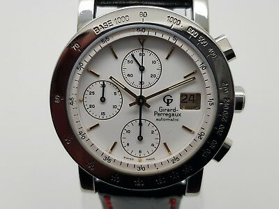 Girard Perregaux Watch  7000 gbm Vintage Automatic Chronograph