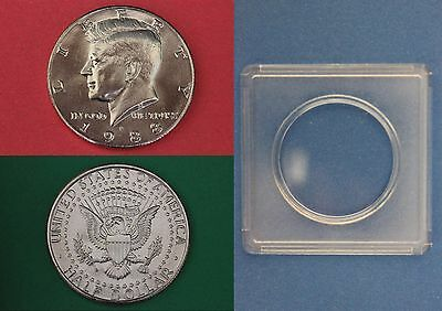 1974 D John Kennedy Half Dollar With 2x2 Case from Mint Set Combined Shipping