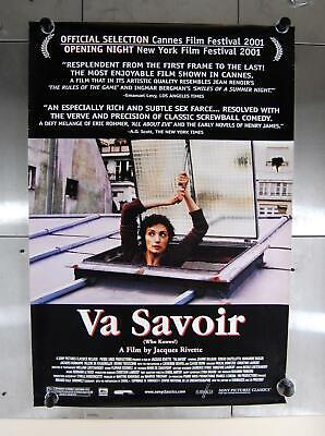 "Va Savoir Who Knows 2001 Movie Promo Drama Crime Comedy Poster 27"" x 40"""