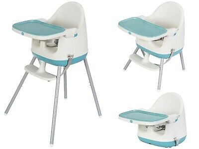 Mamabrum Baby Highchair 3 in 1 Toddler Feeding Chair Table Travel Seat Portable