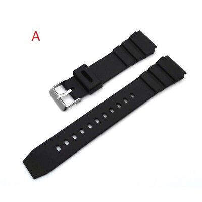 18mm-20mm-22mm Correa Reloj goma  Pulsera rubber Watch Band Strap
