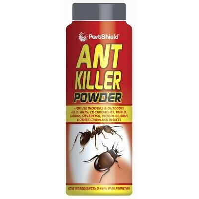 Ant Killer Powder Indoor & Outdoor Kills Ants Cockroaches Beetles Wasps Insects