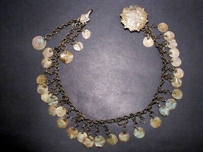 VERY RARE ANTIQUE 1800's. SILVER DRESS JEWELRY from the BALKANS!!!