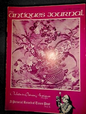 Antiques Journal Magazine May 1969 Orchids Chinese Antiques Doll Costumes Cameos