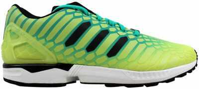 super popular 77e1b 631aa ADIDAS ORIGINAL ZX Flux Xeno Frozen Yellow Shock Mint White ...