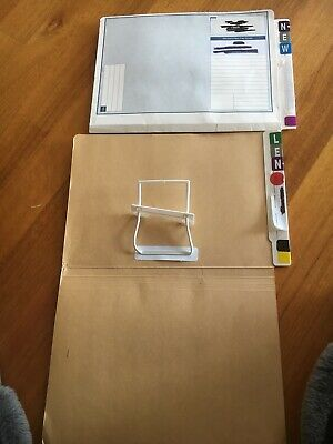 Lateral File Folder With Clip Attached