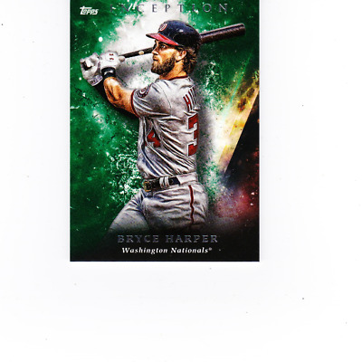 2018 Topps INCEPTION - Base Cards Green Parallels RC You Pick complete your set