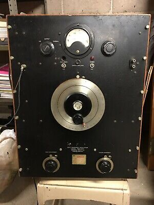 Vintage General Radio Co Beat frequency oscillator Type 713-E  Early AT&T 1930s?