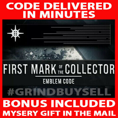 Destiny 2 First Mark of the Collector Emblem Code Plus Bonus Gift