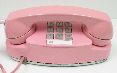 Pink Western Electric Princess TouchTone Desk Telephone - Full Restoration
