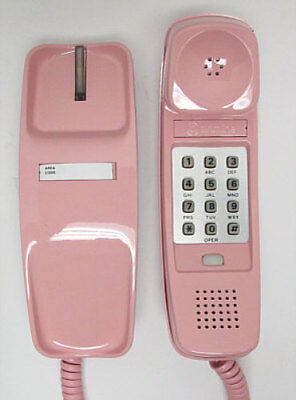 Pink Western Electric Trimline TouchTone Desk Telephone - Full Restoration